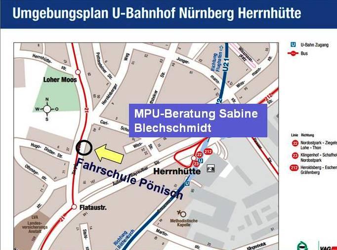 MPU Vorbereitung Nürnberg Fürth Erlangen