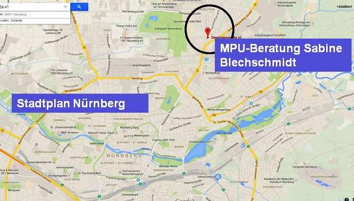 MPU Beratung Sabine Blechschmidt Nürnberg